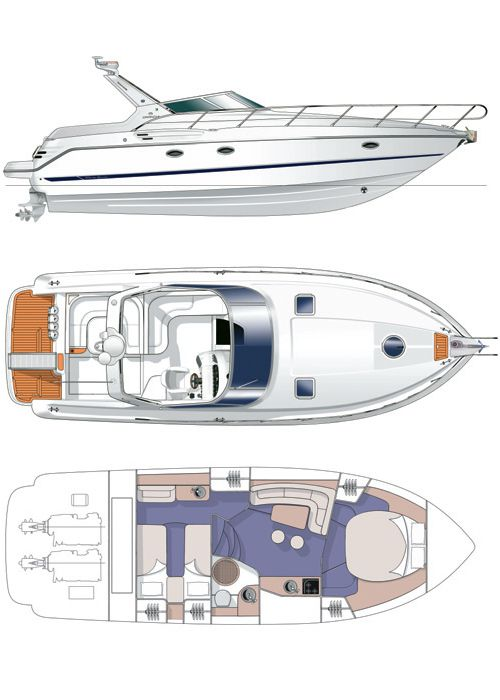 Cranchi-Italie smeraldo Santorini Yacht Cruises  9