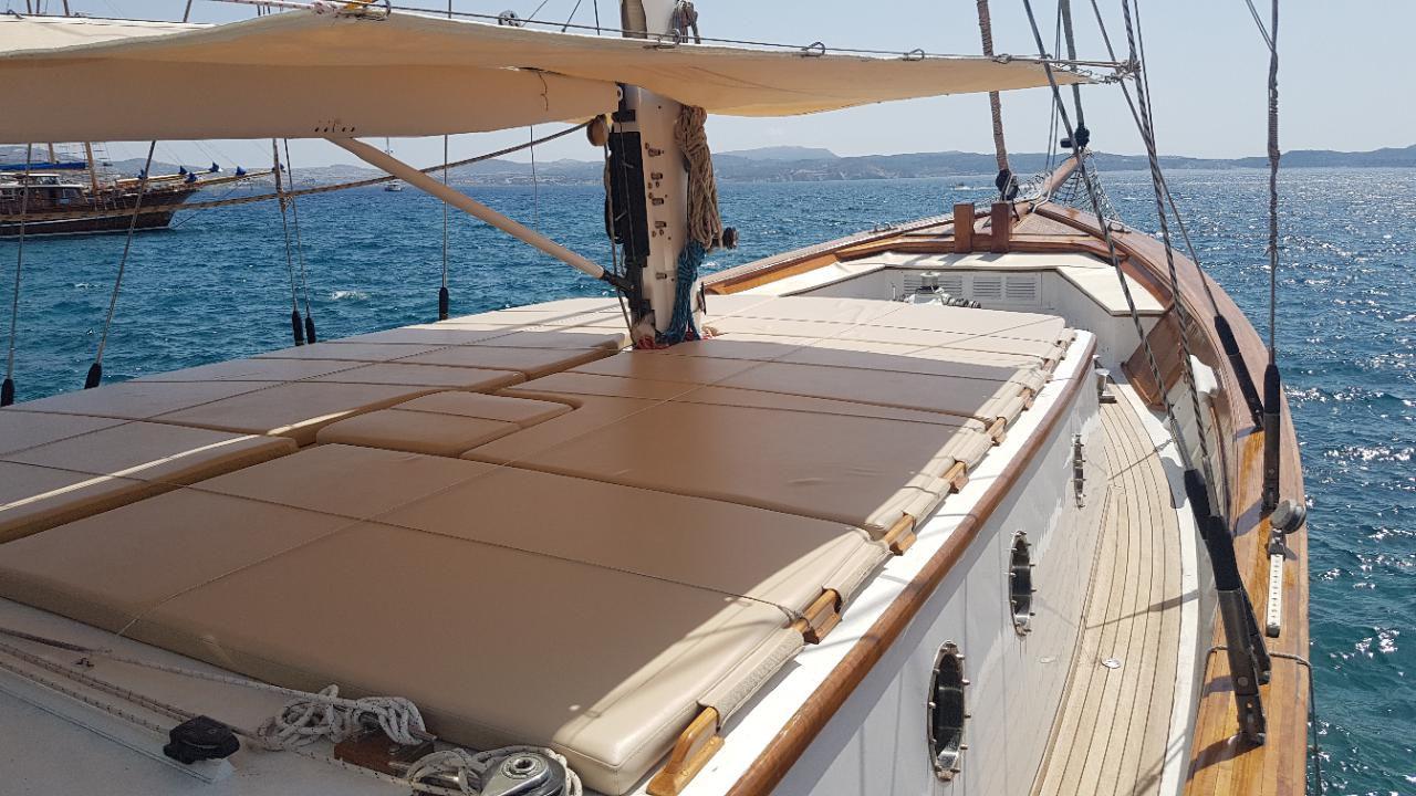 Custom Made  Schooner Motor Sailboat Odysseus A.  2