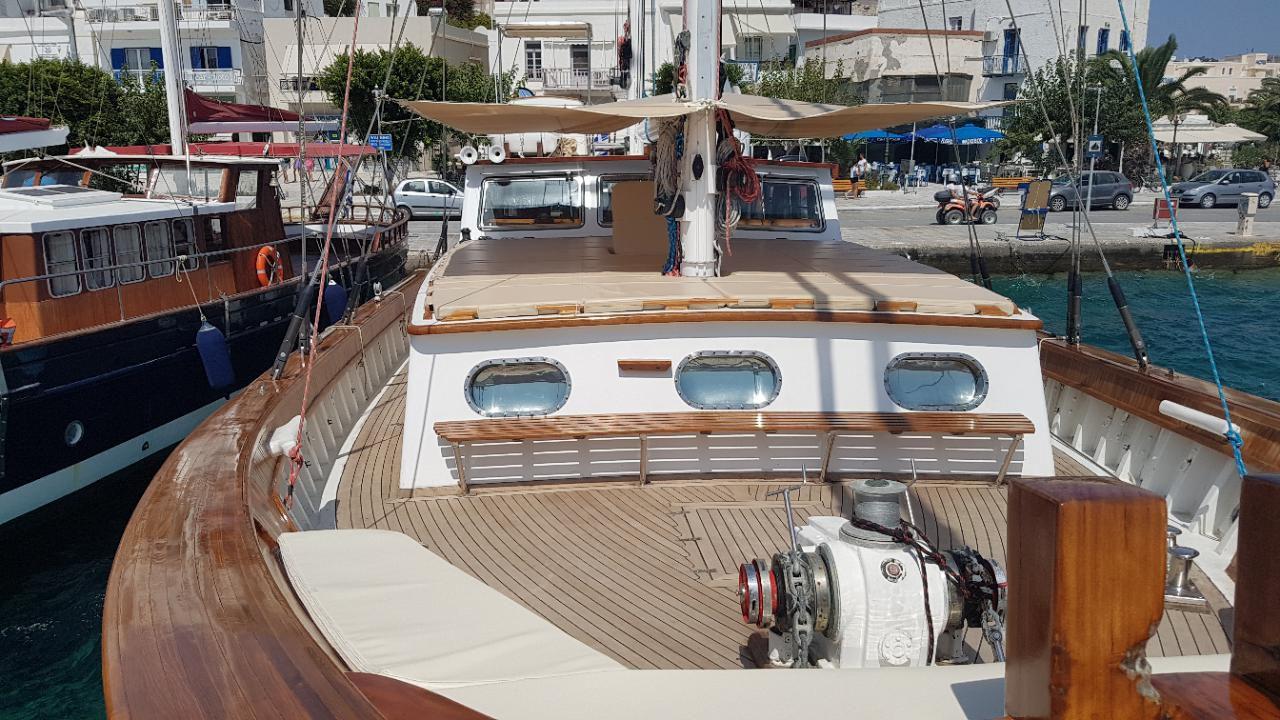 Custom Made  Schooner Motor Sailboat Odysseus A.  3