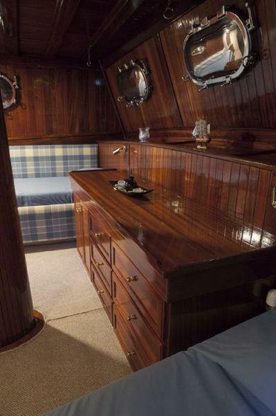 Custom Made  Schooner Motor Sailboat Odysseus A.  6