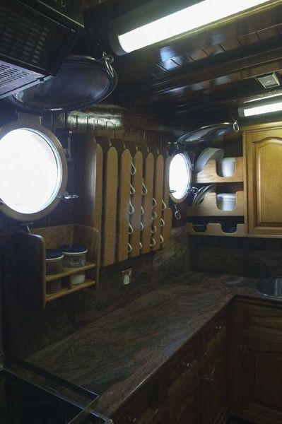 Custom Made  Schooner Motor Sailboat Odysseus A.  5