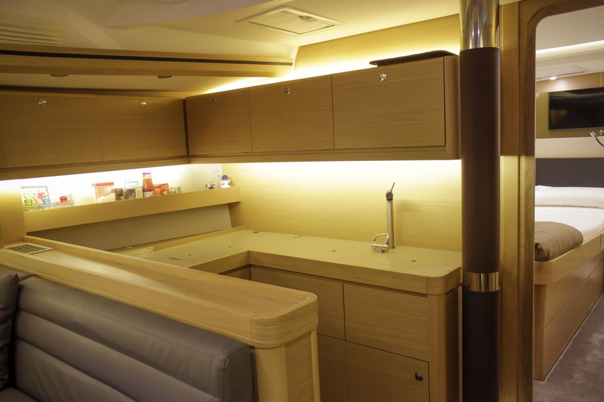 Dufour Yachts 56 Exclusive INVICTUS 34