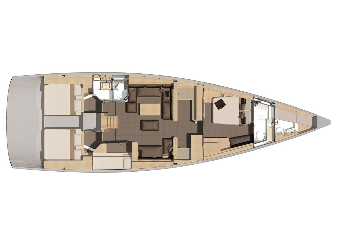 Dufour Yachts 56 Exclusive INVICTUS 22