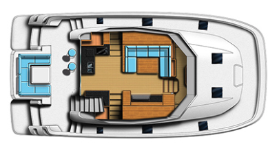 Aquila 44 Power Catamaran 15