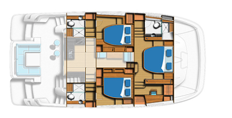Aquila 44 Power Catamaran 16