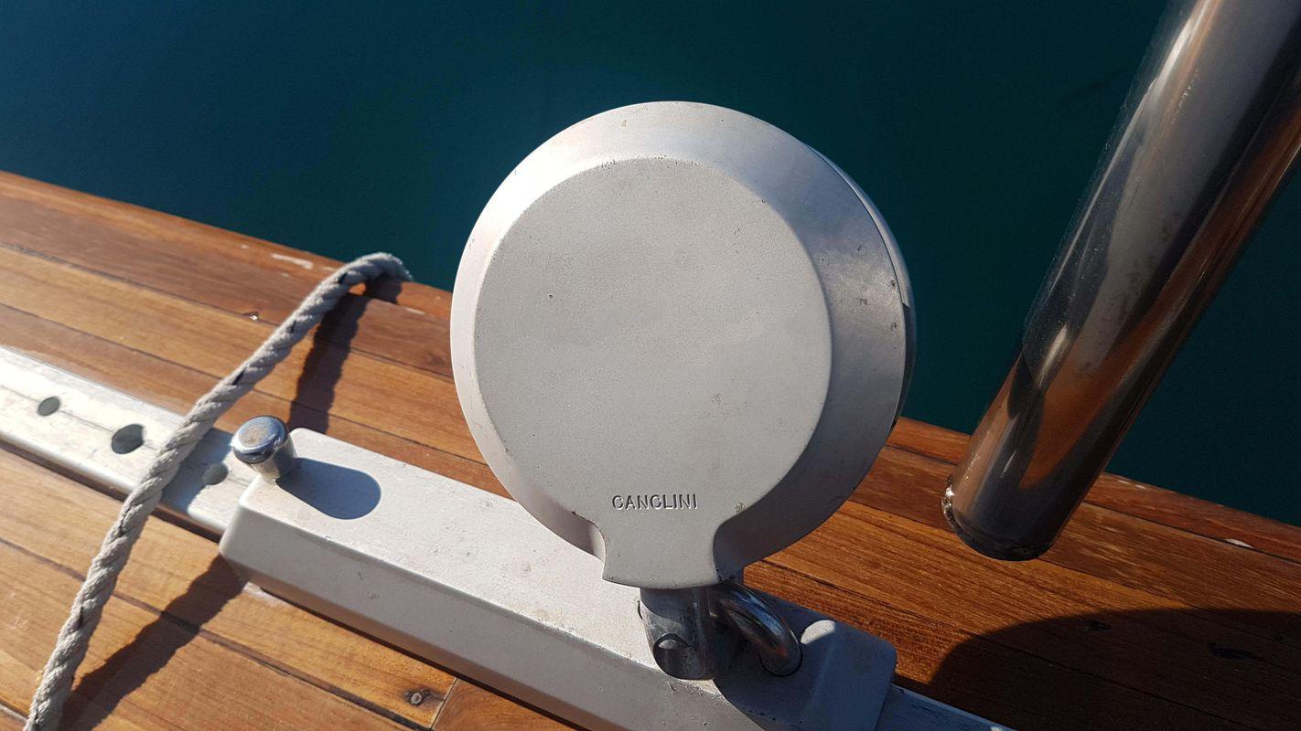 Custom Made  Schooner Motor Sailboat Odysseus A.  13